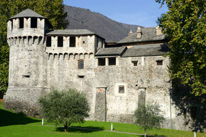 Castello Visconteo aus Locarno